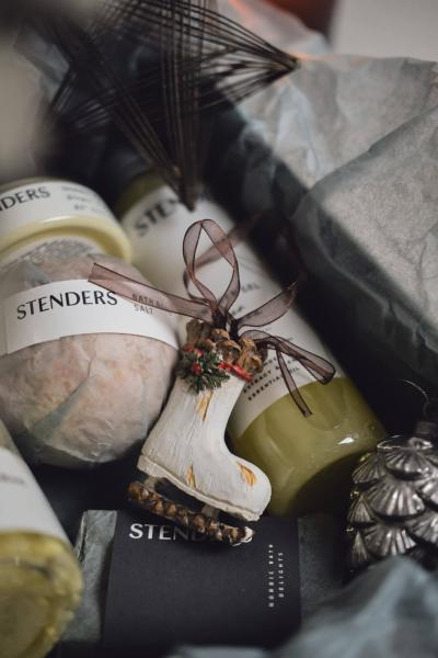For a festive Christmas glow: gift set with ginger and lemon
