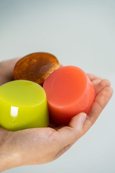 New summer jelly soaps for tropical bathroom pleasures!