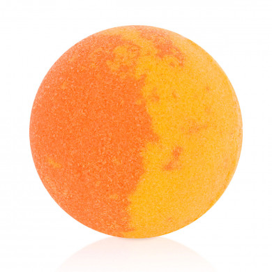 Orange bath bubble-ball  image