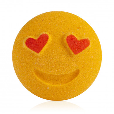 """Heart Face"" Foaming Bath Bomb image"