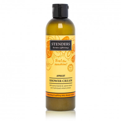 Apricot shower  cream image