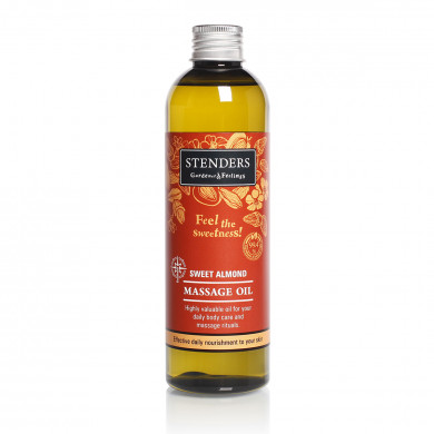 Sweet almond massage oil image