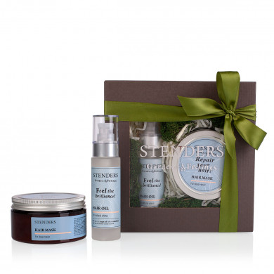 """""""Beautiful hair specialists"""" haircare gift set image"""