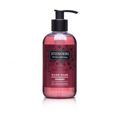 Cranberry hand wash