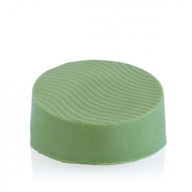 """Strengthening - Green"" solid shampoo bar image"