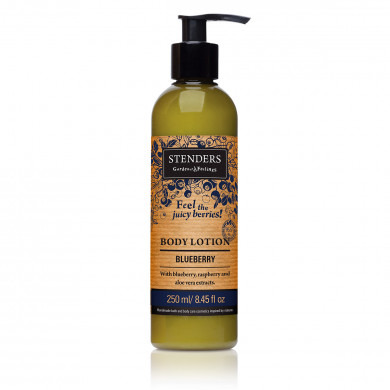Blueberry body lotion image