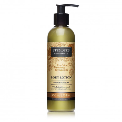 Linden blossom body lotion image