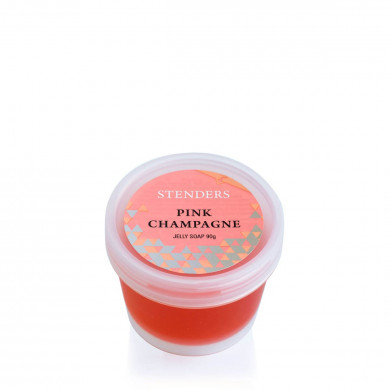 """""""Pink Champagne"""" hand and body jelly soap image"""