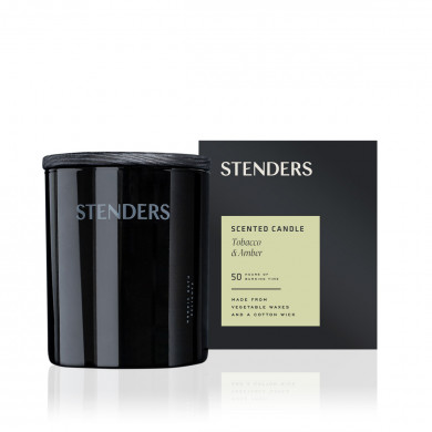 Tobacco & Amber scented candle image