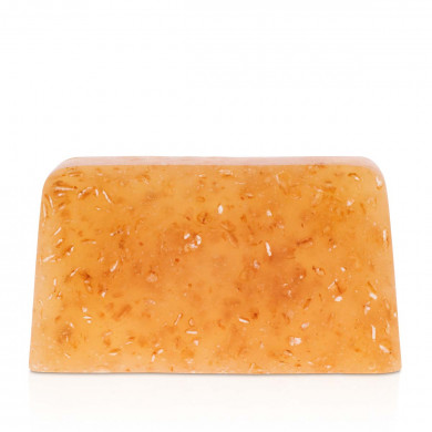 """Oat flake - lemongrass"" hand soap bar image"