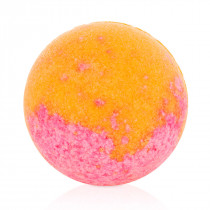 Plum bath bubble-ball