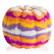 """Magic pumpkin"" rainbow bath bomb"