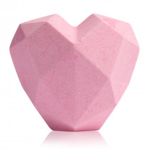 "Foaming Bath Bomb ""Shape of my heart"""