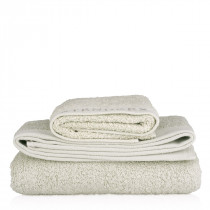 Organic cotton towel, grey (90 x 150cm / 35.4 x 59″)