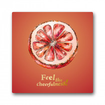 Grapefruit Cheerfulness Greeting Card