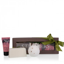 """Rosy charmers"" bath gift set"