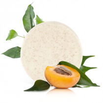 """Apricot"" exfoliating body soap bar"